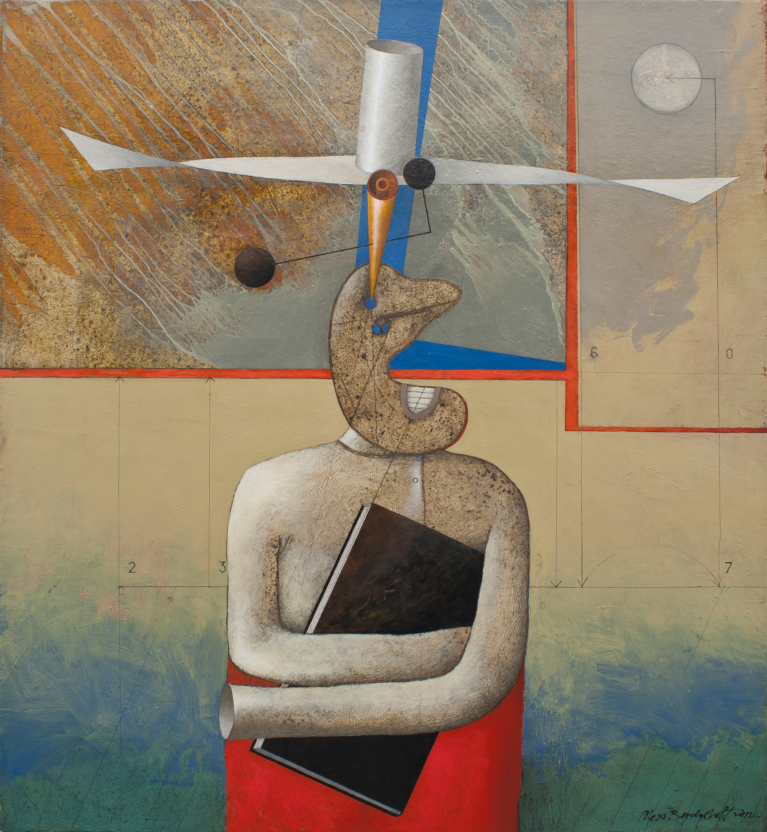 Possession, oil on canvas, 60x55 cm, 2012
