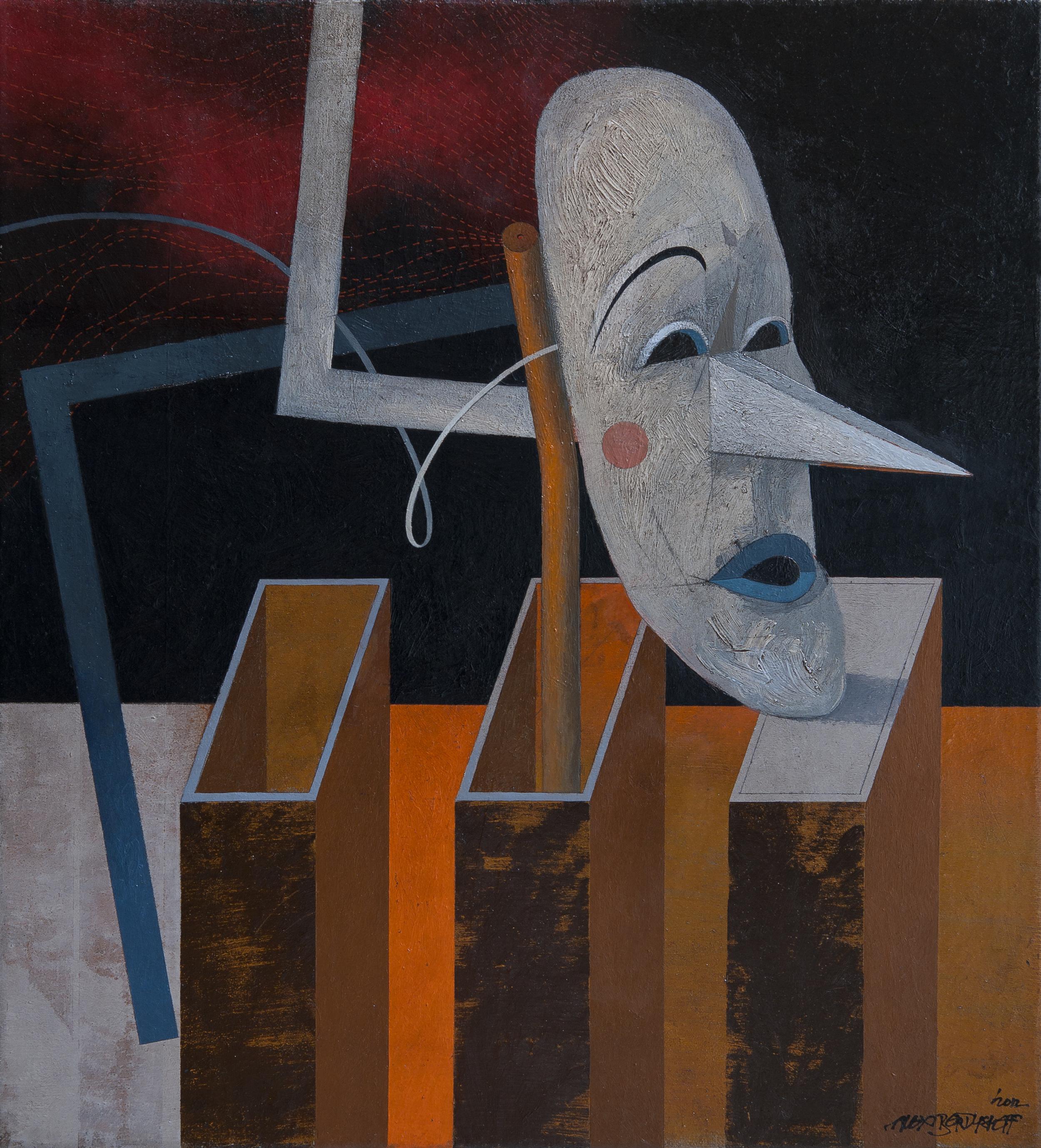 Rehearsal, oil on canvas, 60x55 cm, 2012