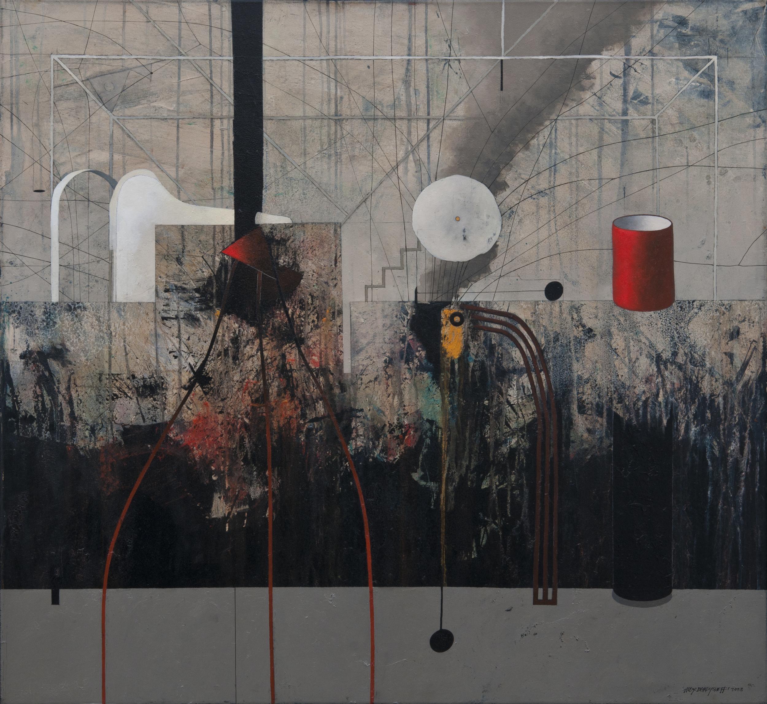Casa I, oil on canvas, 110x120 cm, 2013