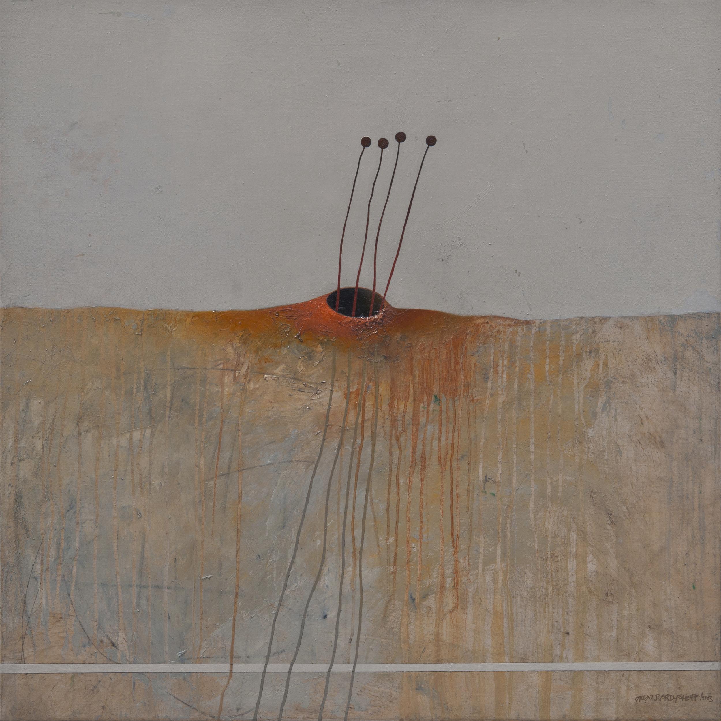 Desolation, oil on canvas, 85x85 cm, 2013