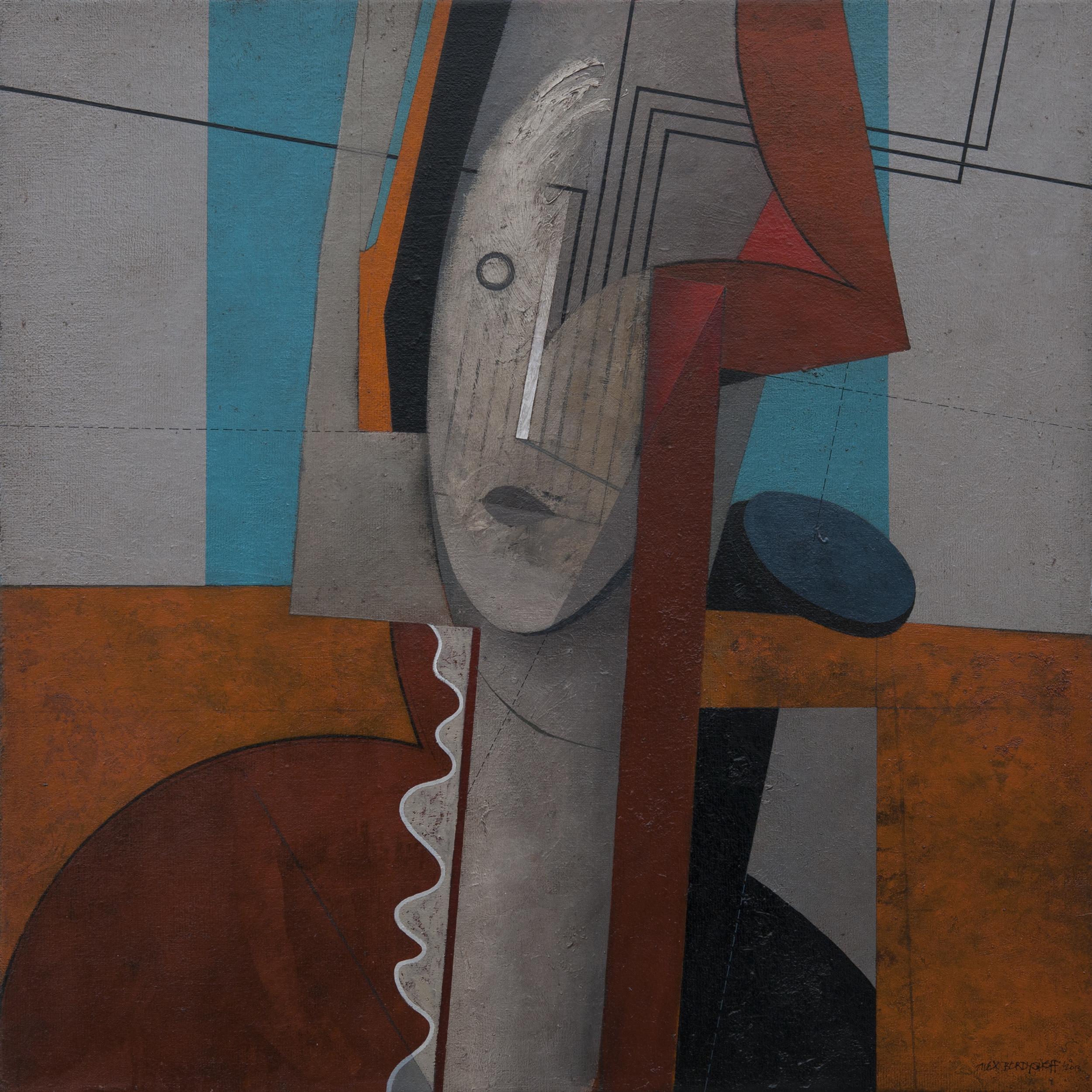 Memories, oil on canvas, 85x85 cm, 2013