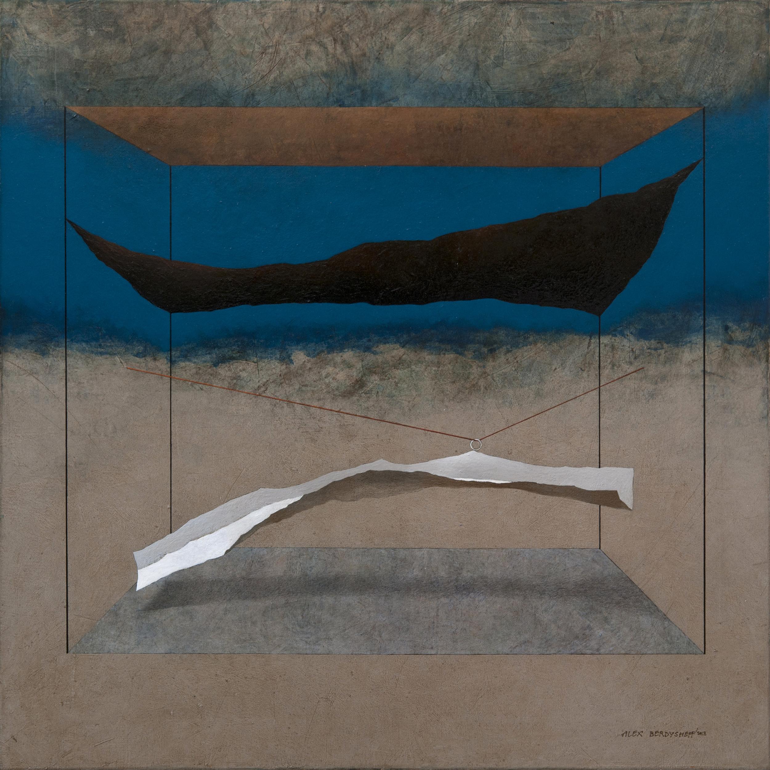 Night, oil on canvas, 85x85 cm, 2013