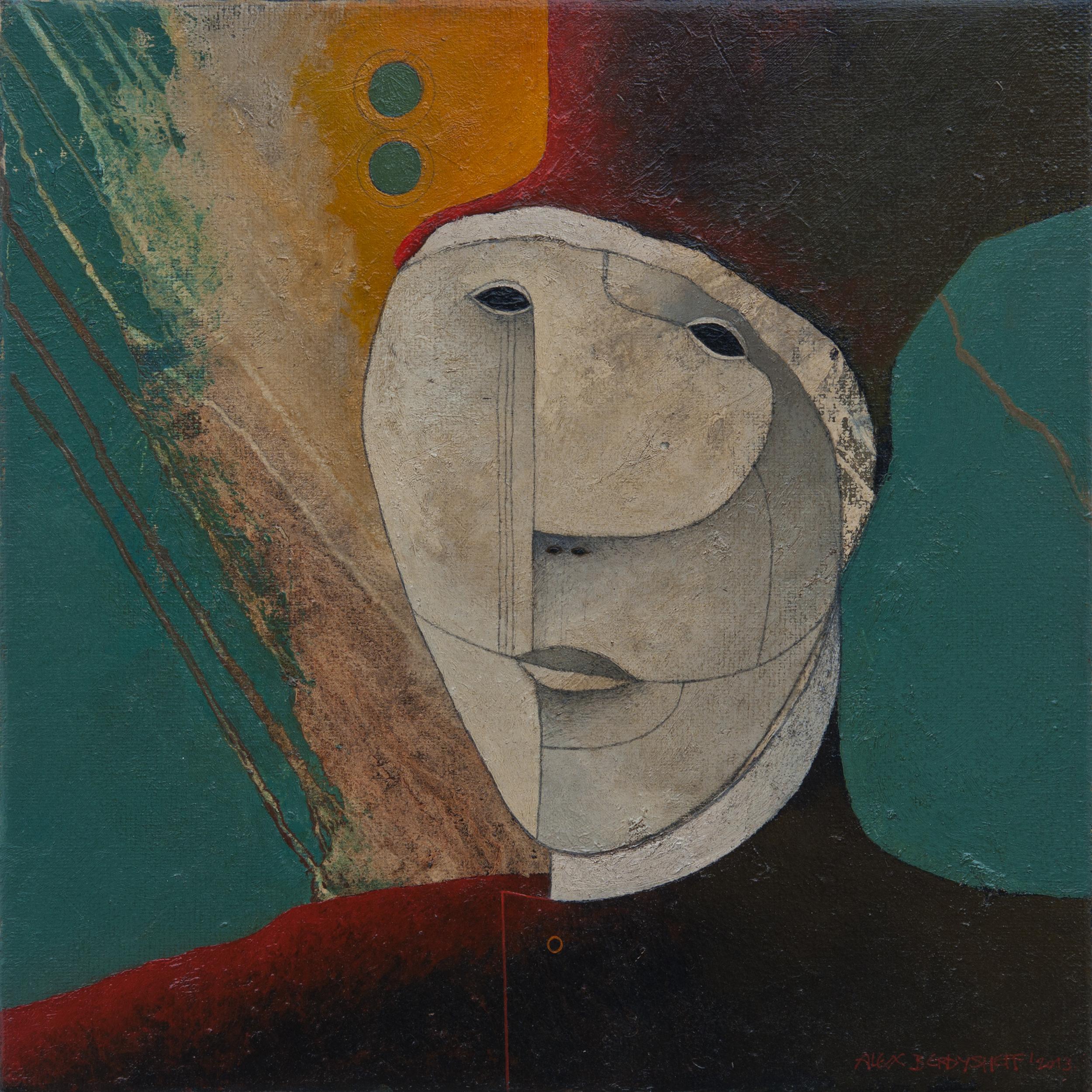 Renaissance Man, oil on canvas, 46x46 cm, 2013