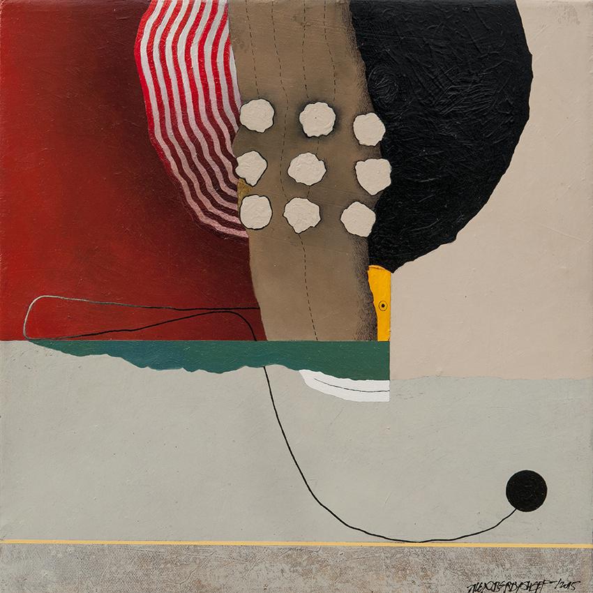 Freak Show I, oil on canvas, 46x46 cm, 2015