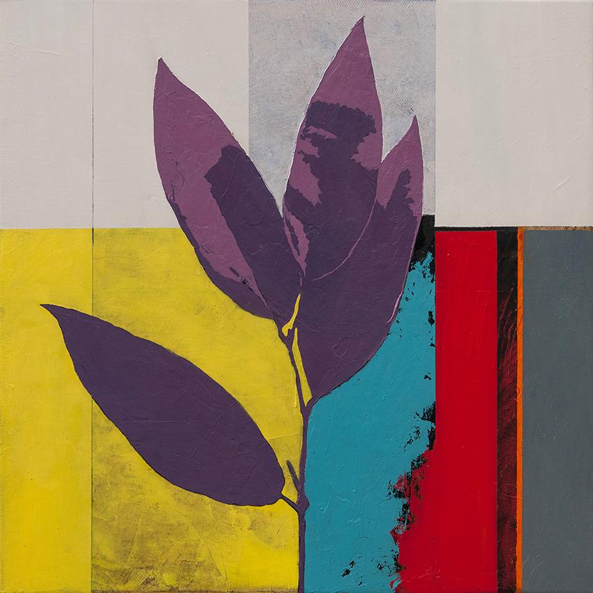 Garden, oil on canvas, 46x46 cm, 2015