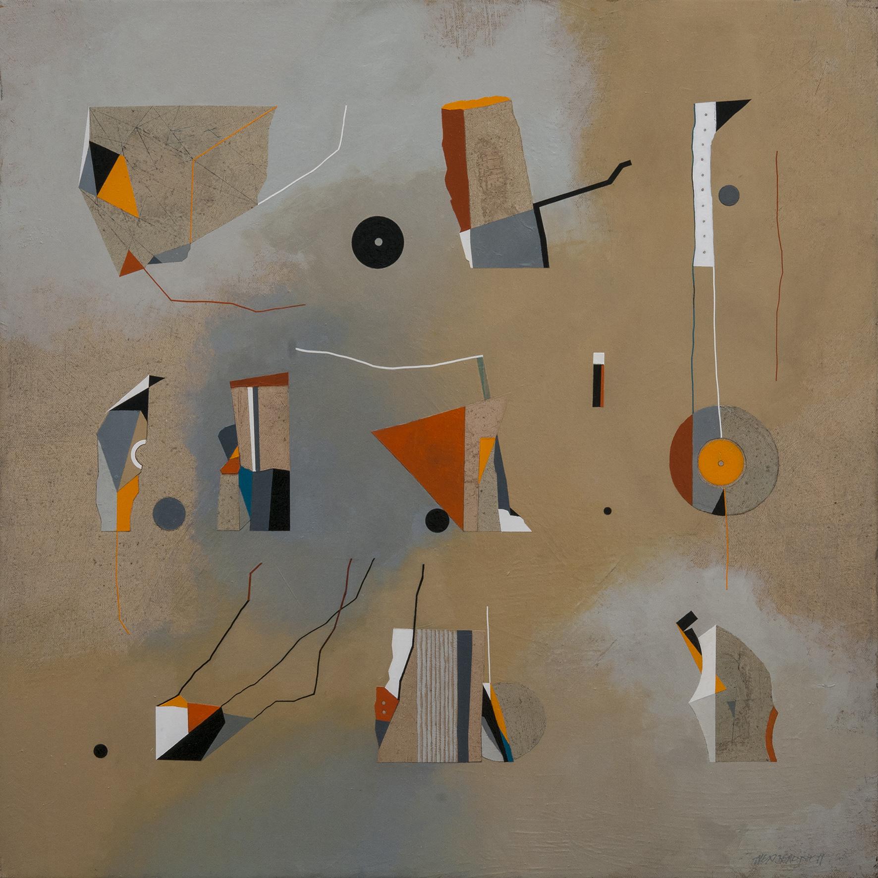 Playground, oil on canvas, 85x85 cm, 2015