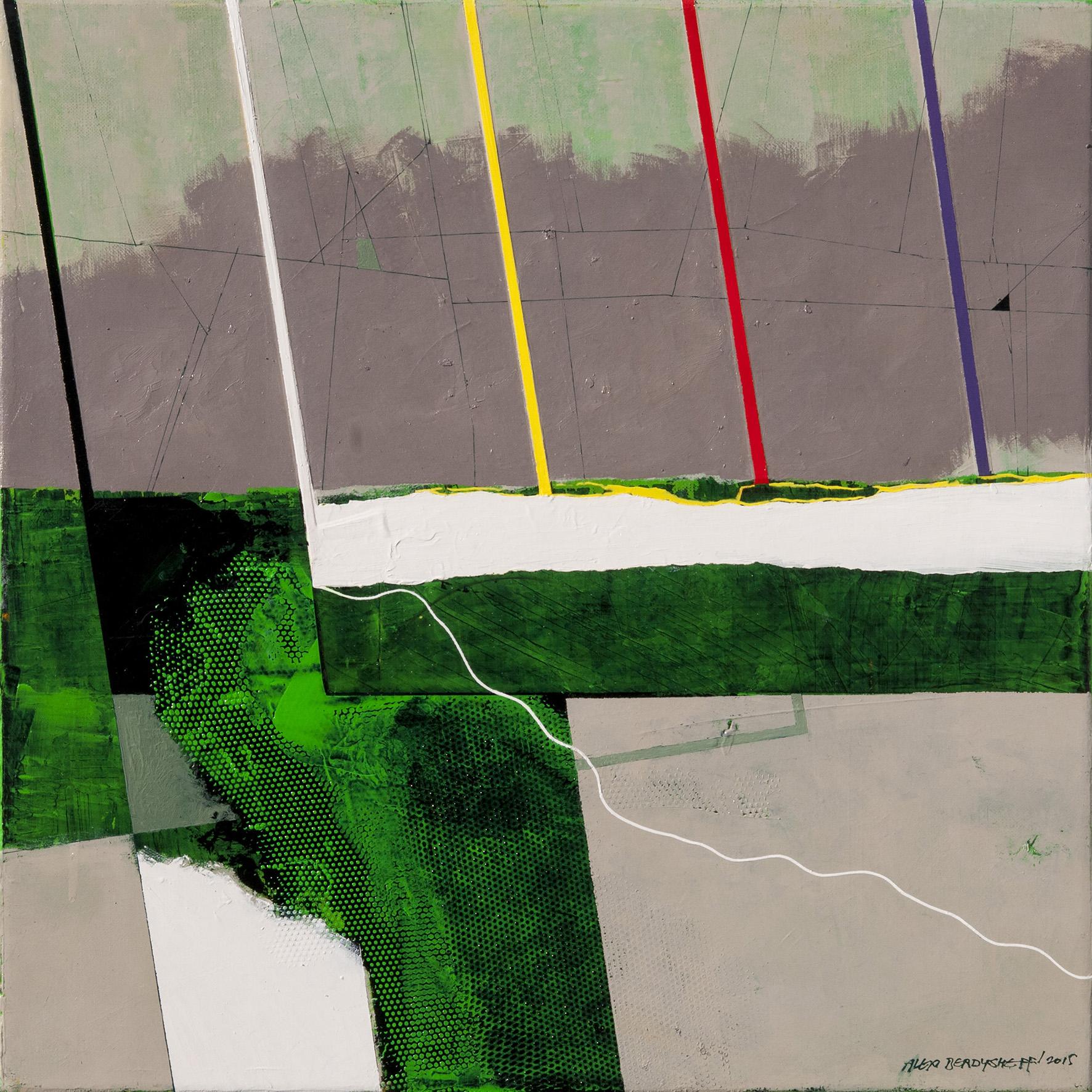 Rhythm III, oil on canvas, 46x46 cm, 2015