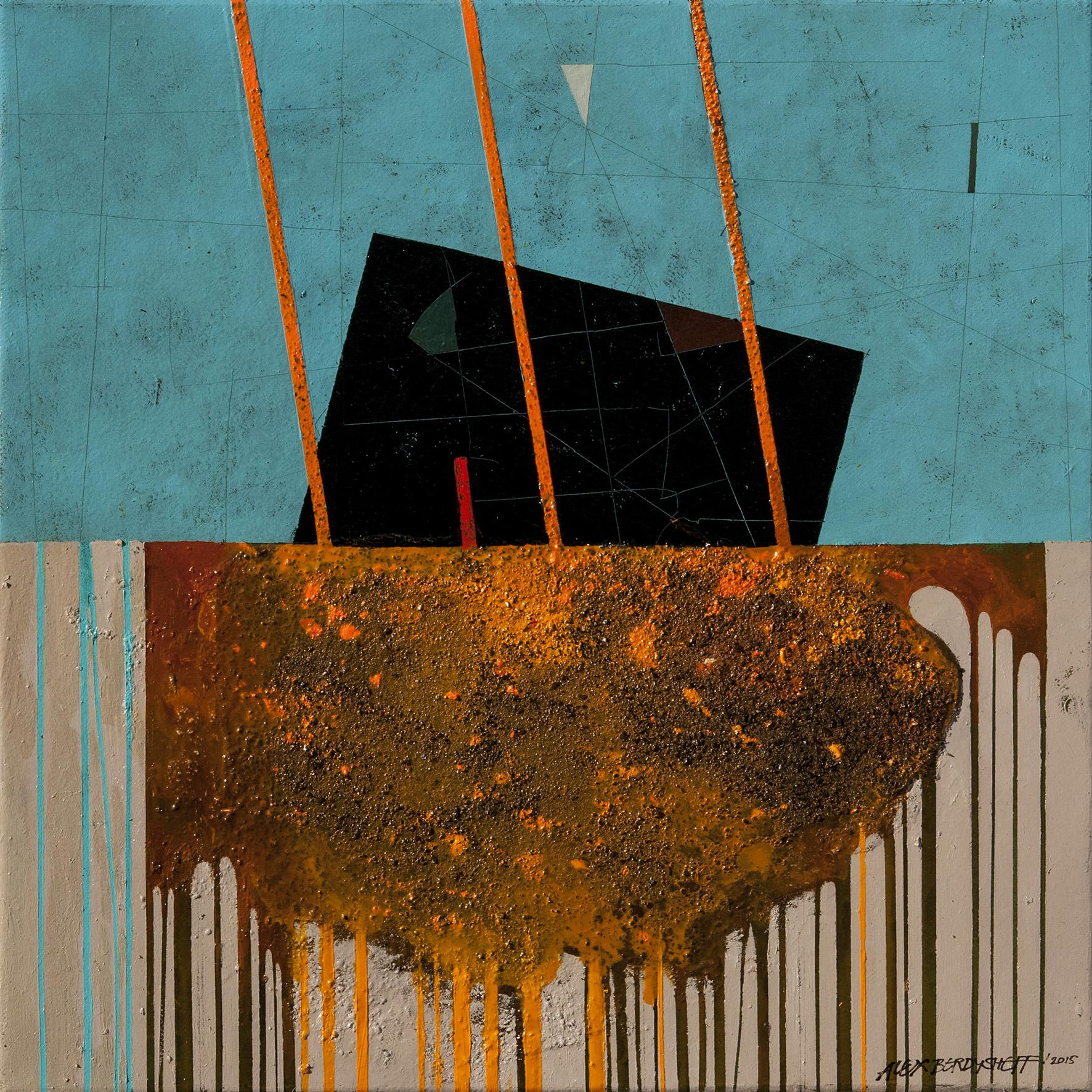Rhythm V, oil on canvas, 46x46 cm, 2015