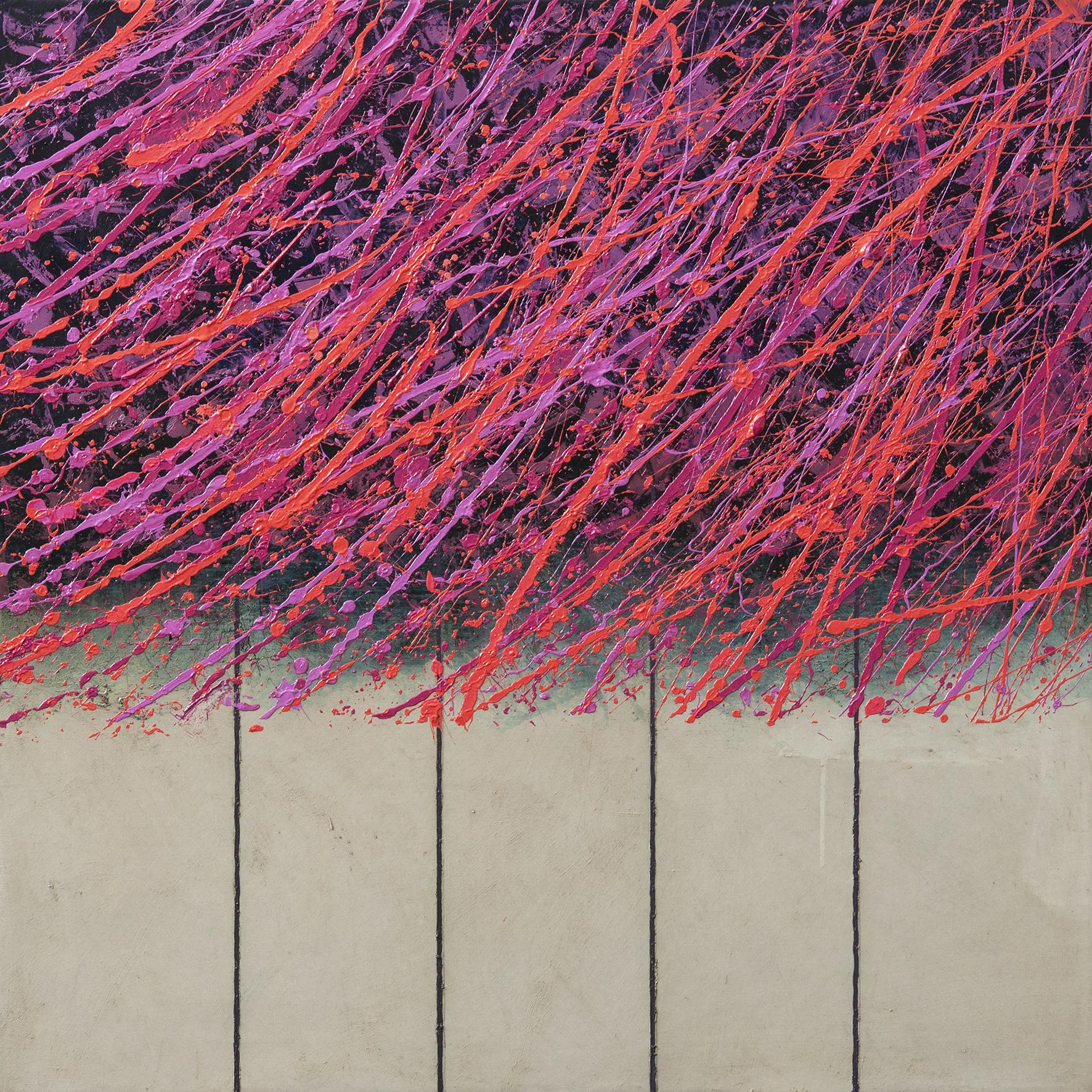 Terra XIV, oil on canvas, 85x85 cm, 2015