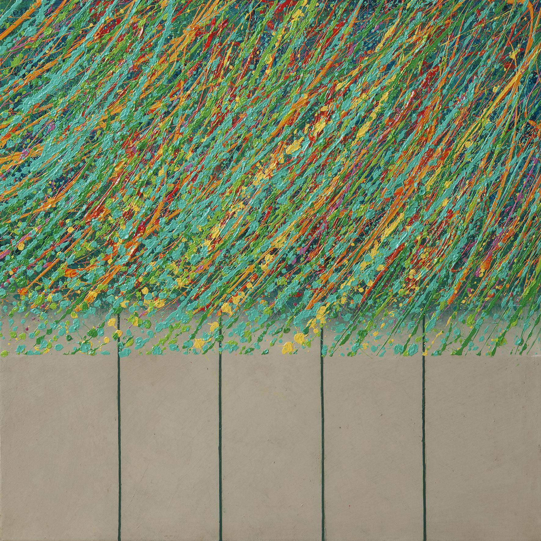 Terra XV, oil on canvas, 85x85 cm, 2015
