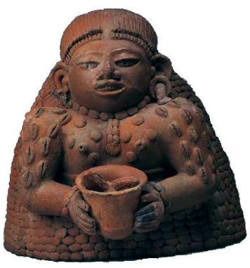 Ixcacao Mayan Goddess of Cacao, Fertility, & Prospertity.