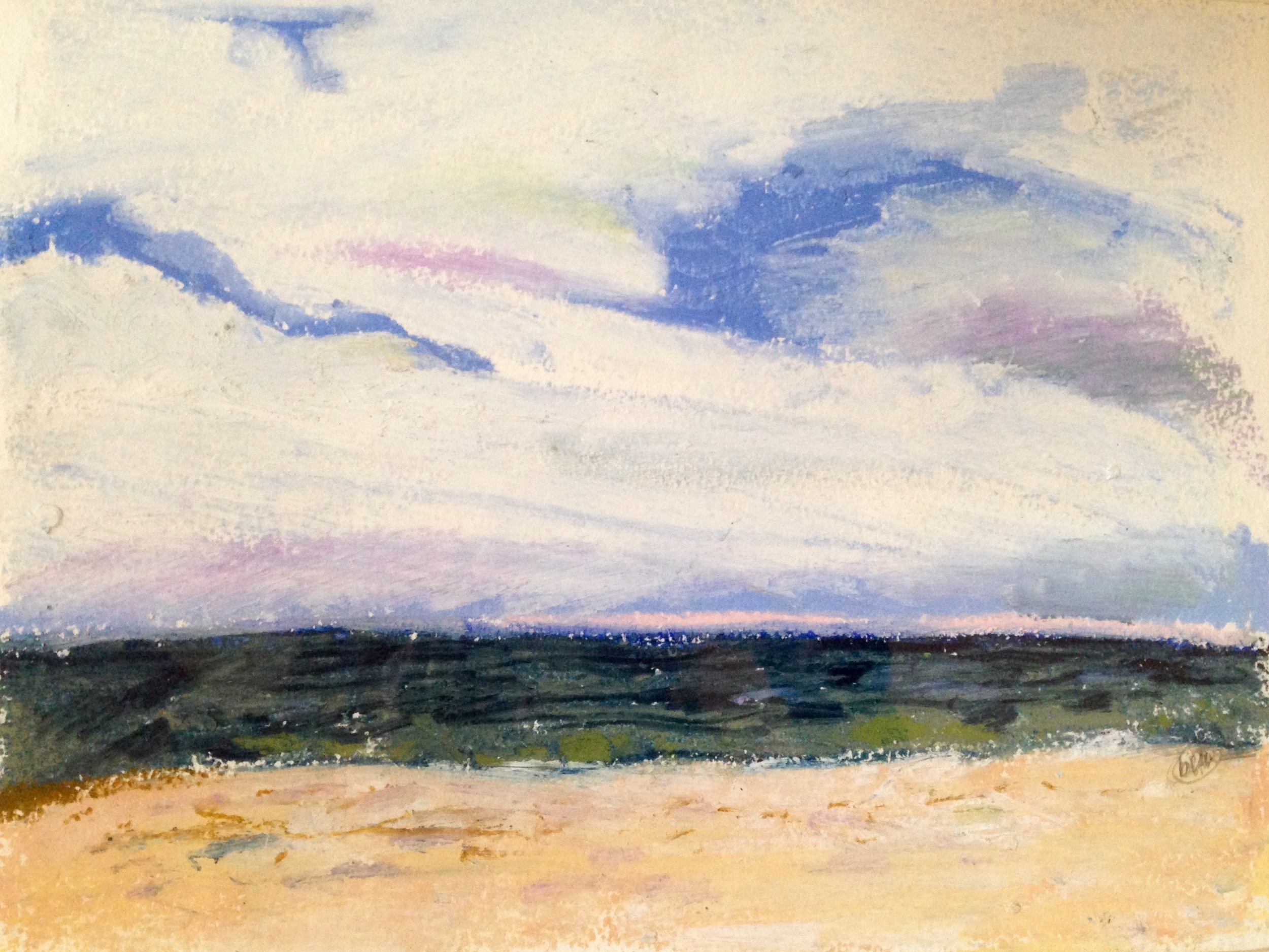 oyster bay beach     09    oil     beth vendryes williams