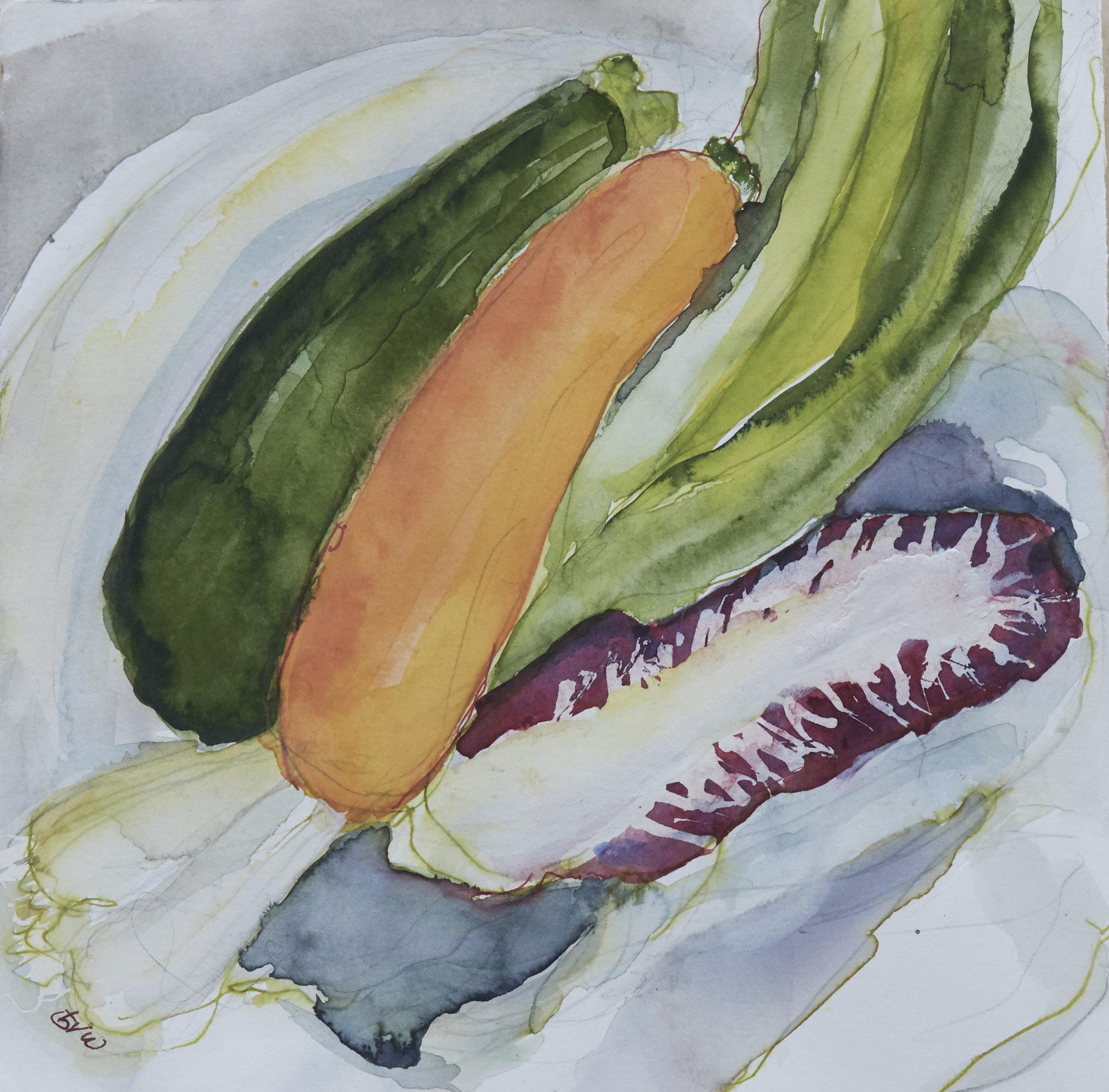 zucchini& radicchio   975