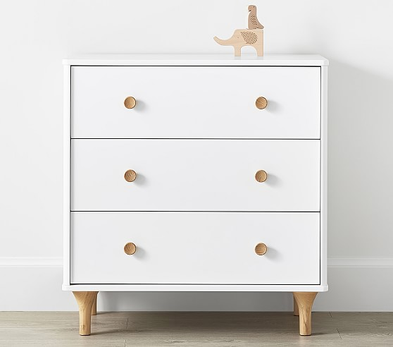 Dresser + Changer - Babyletto for solid and natural wood finish.
