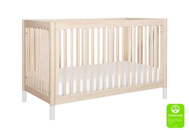 Crib - Babyletto for solid and natural wood finish.