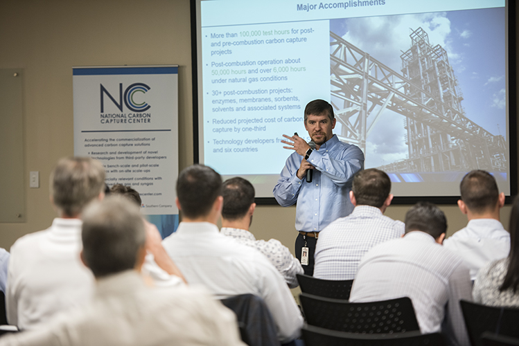 National Carbon Capture Center Director John Northington details the facility's natural gas infrastructure expansion.