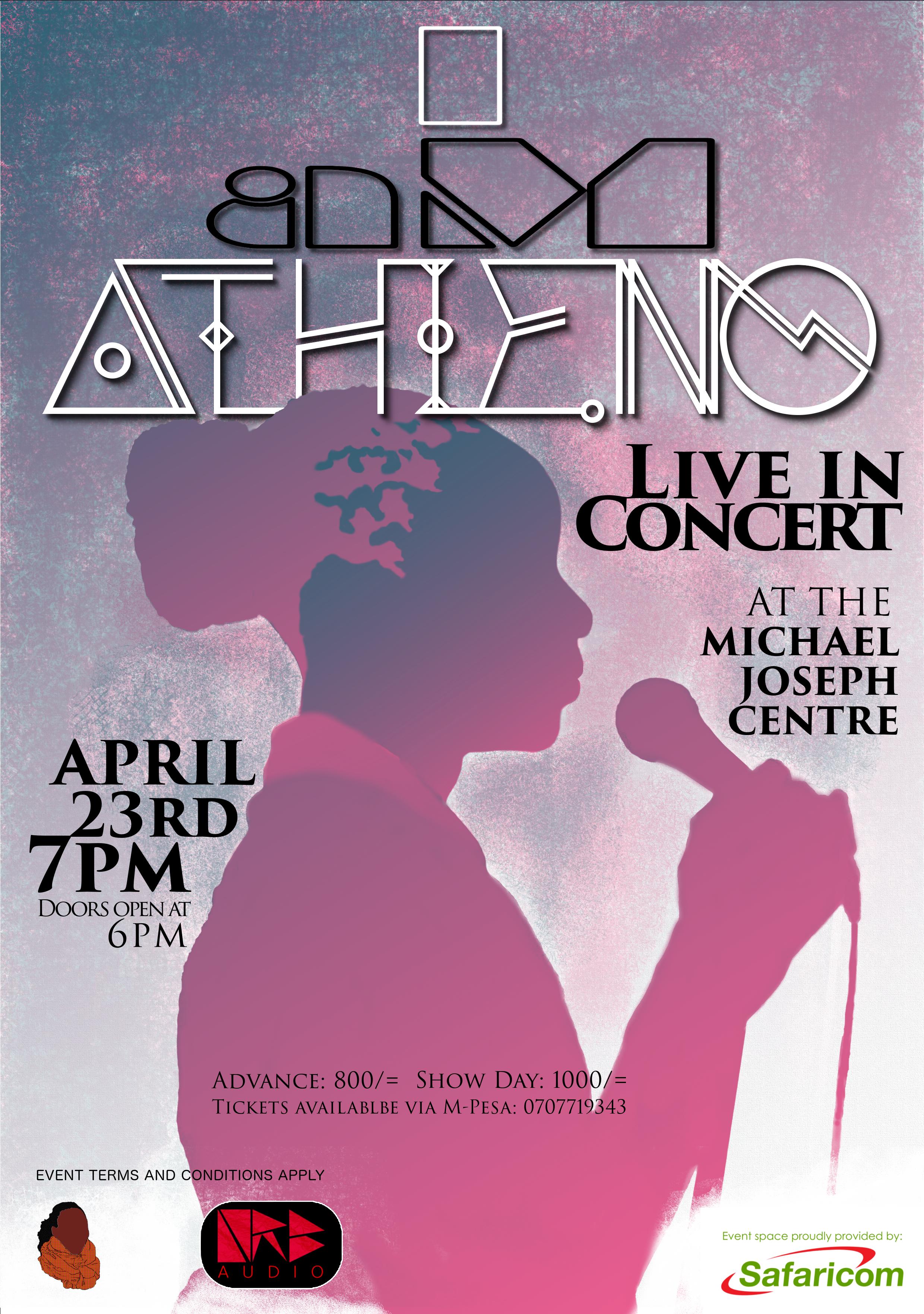 I aM ATHIENO: Live in Concert (April 23rd 2016)