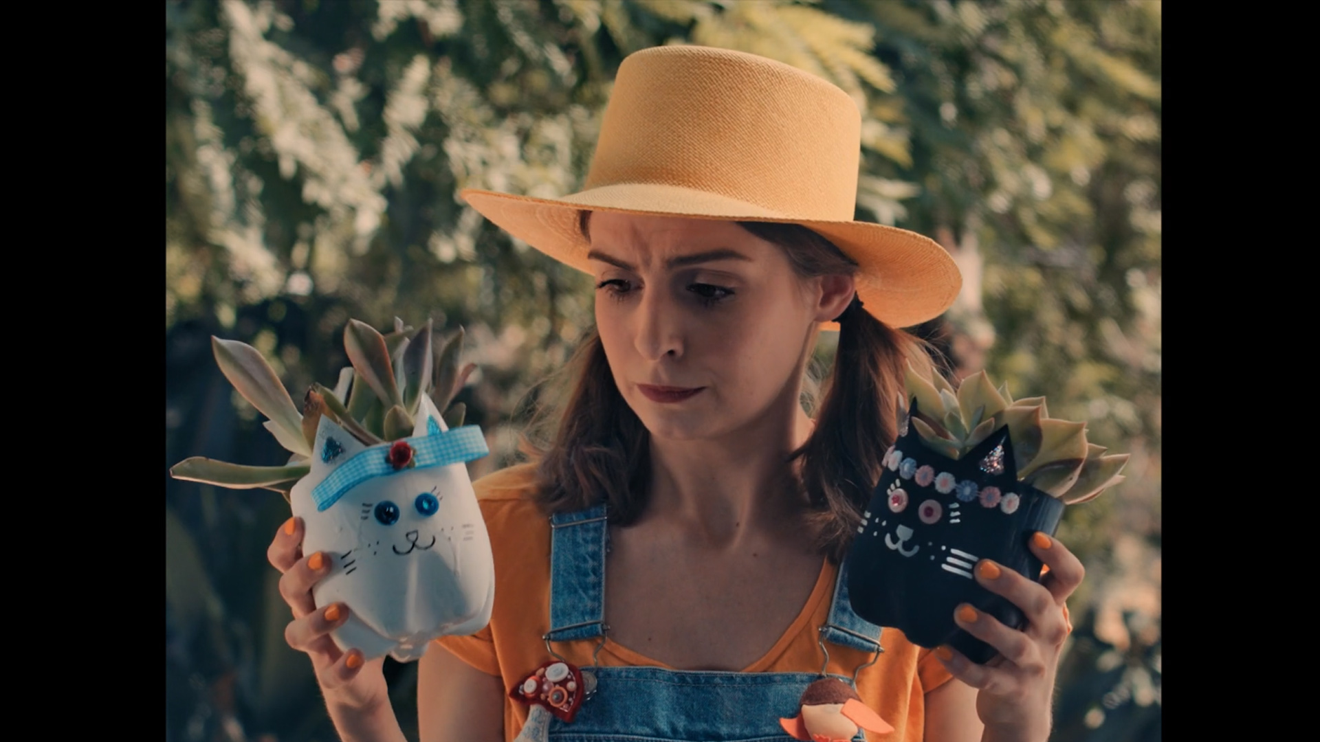 Laura Cat Bloom Raider  (2018)-Producer, Director-  Couple Cary and greg get a surprise visit from their Etsy succulent provider.