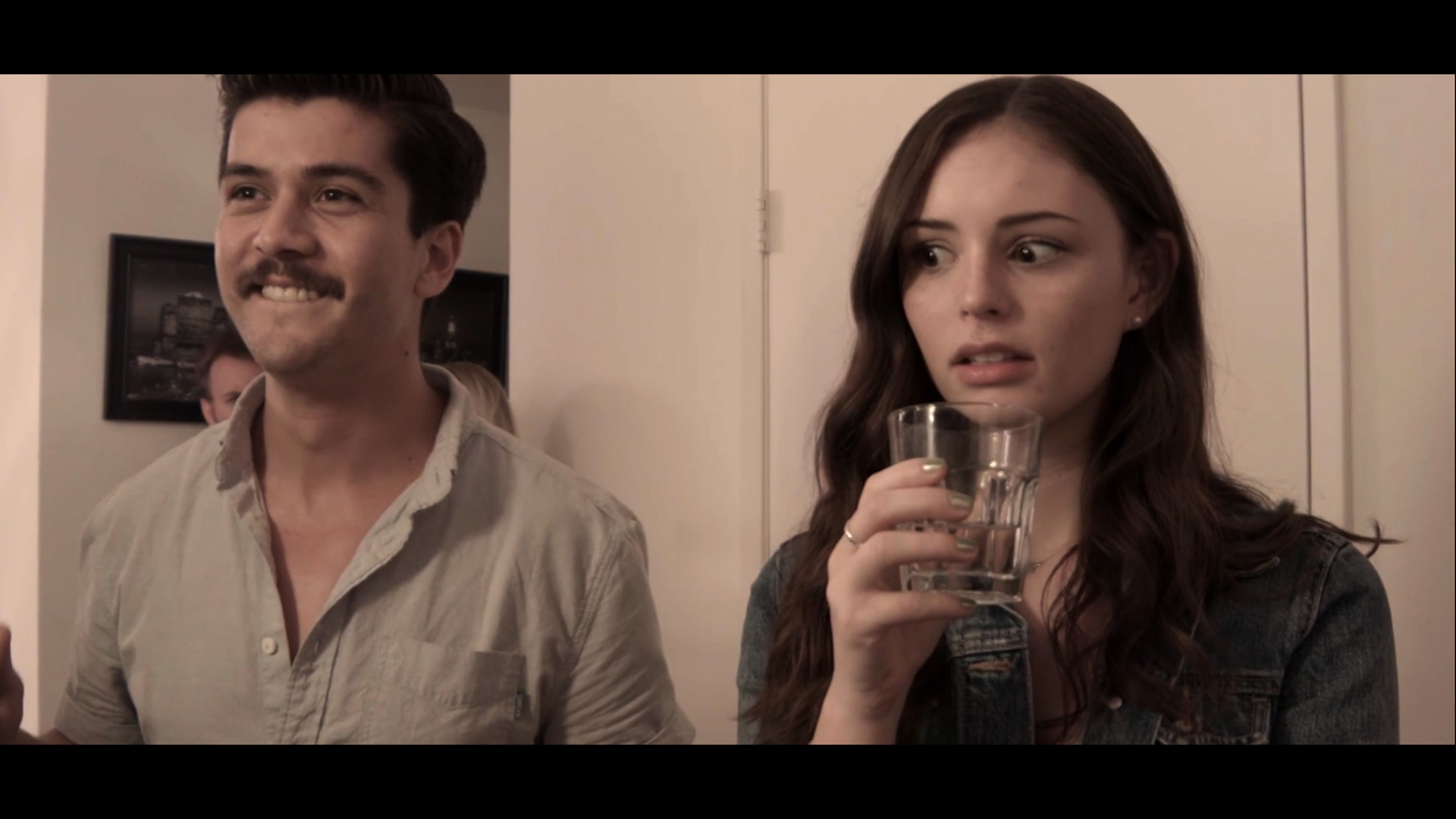 Spin the bottle  (2018) -Producer, Director, Writer-  A surprise spin the bottle game pushes a young woman to kiss her crush. Originally a spec commercial for the Moet moments competition