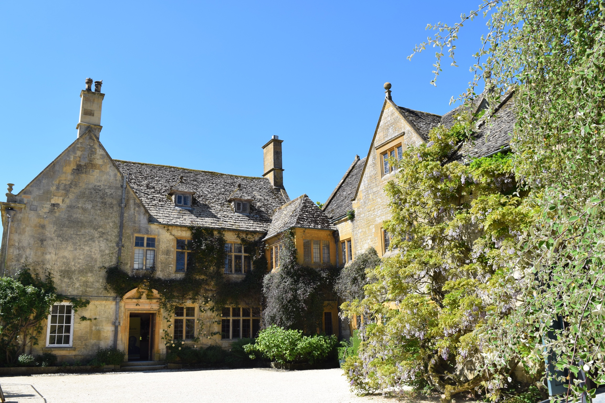 Hidcote Manor House.