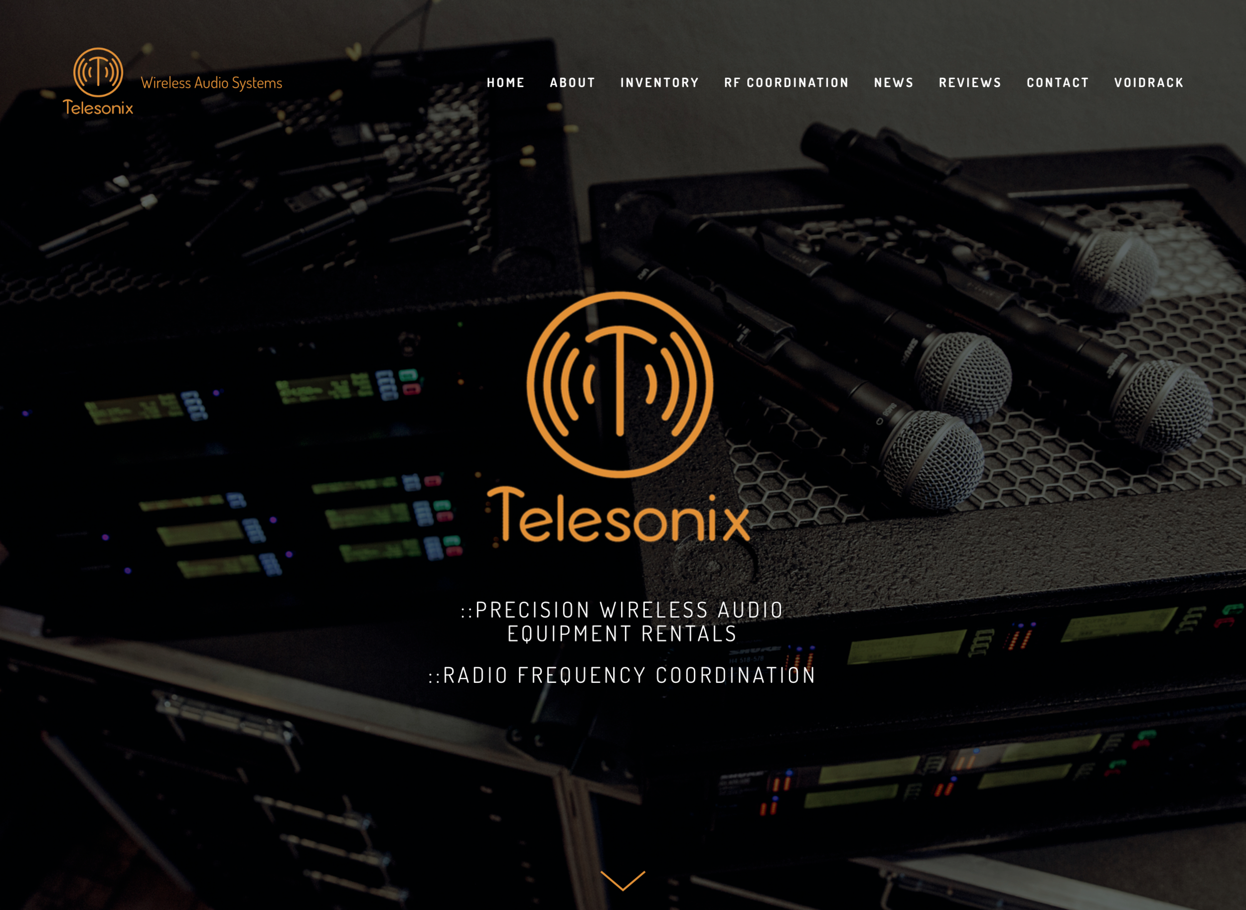 Business Website Rebrand | Parallax | Mobile Responsive | Graphic Design New Branding Telesonix Ad Website Admin: Current Based in Los Angeles, CA