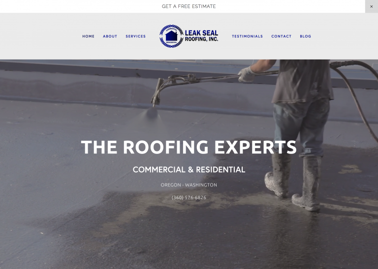Construction Website Rebrand | Parallax | Video Integration | Video Background | Mobile Responsive Website Admin: Transferred Based in Camas, WA