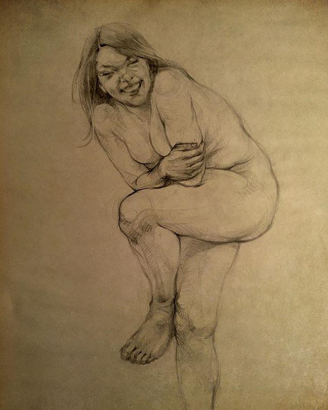 #sketch #pencildrawing #art #nude #figurative