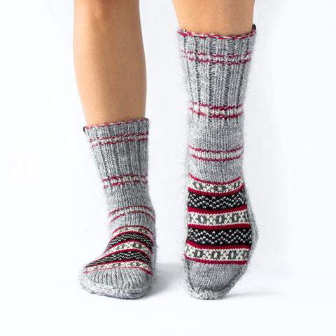 Fazl Socks - Every time you purchase a pair of Fazl Socks you are helping to provide  orphaned and destitute children in India with food, shelter, education,  and clothing. What's more, they give fair wages to the lovely ladies who  knit their socks.