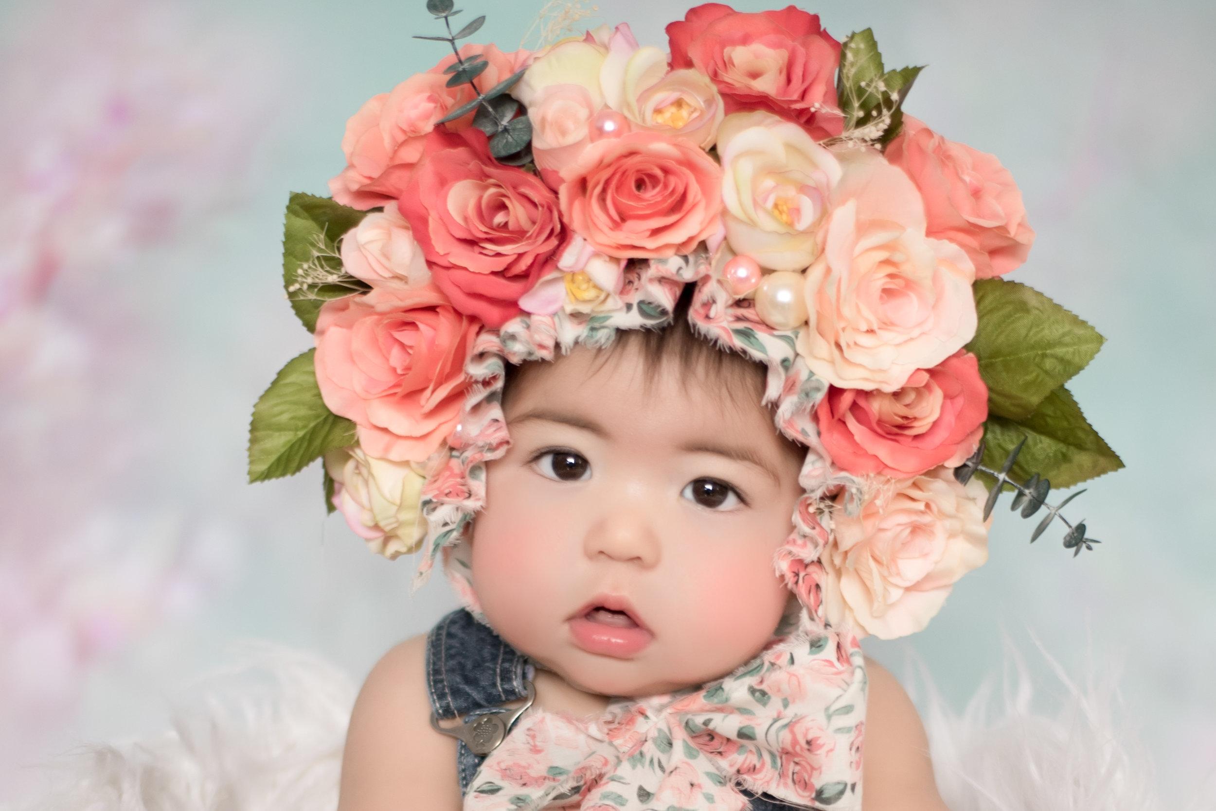 Collection Rose 80$ - (20) minutes de séance(1) choix de bonnet(4) photos numériques en haut résolution