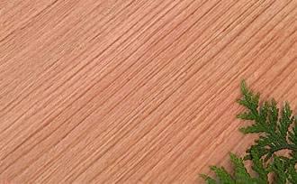 western red cedar grain
