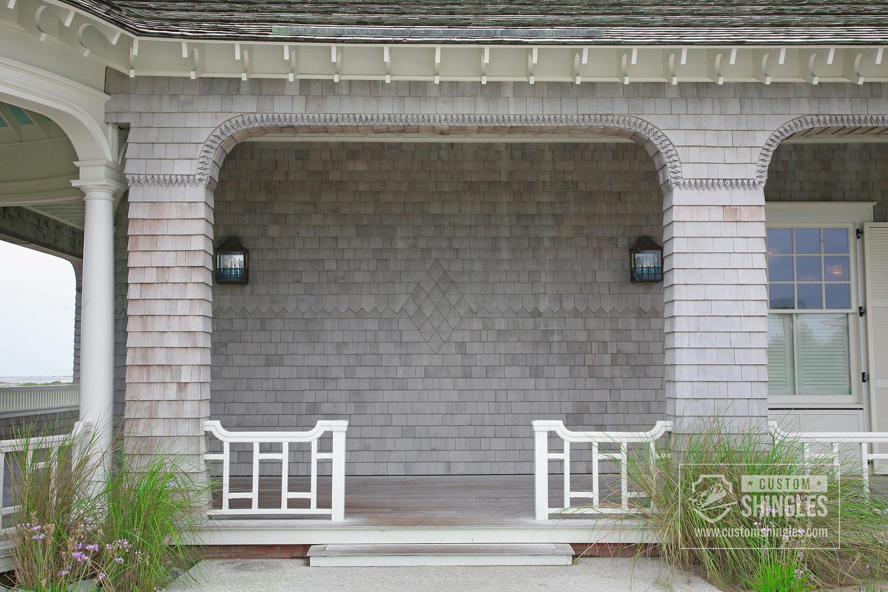 shingles on porch