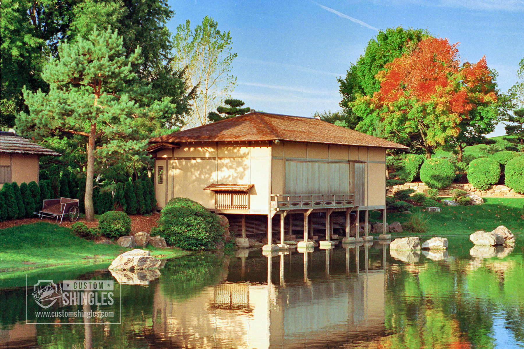 Chicago Botanical Gardens Japanese Tea House using Wafer Thin Shingles (2) copy.jpg