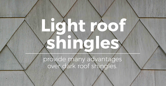 light roof vs dark roof shingles