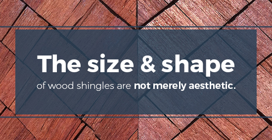 Size & Shape of historical wood roofing