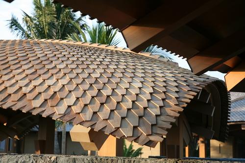 Curved Roof Shingles Custom Shingles