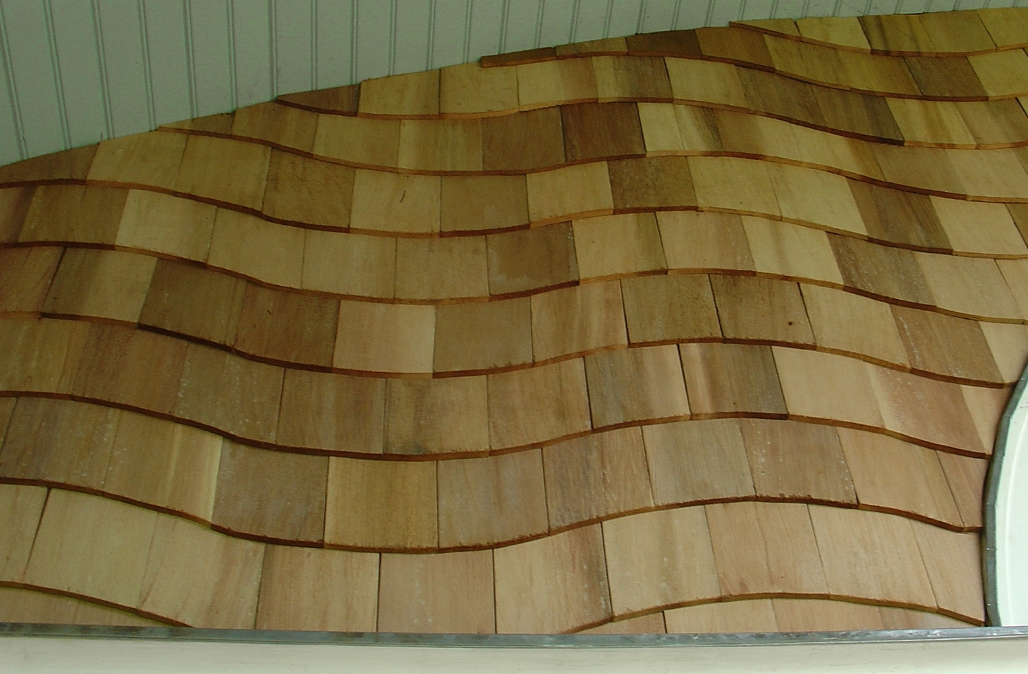 18 inch patterned wall shingles