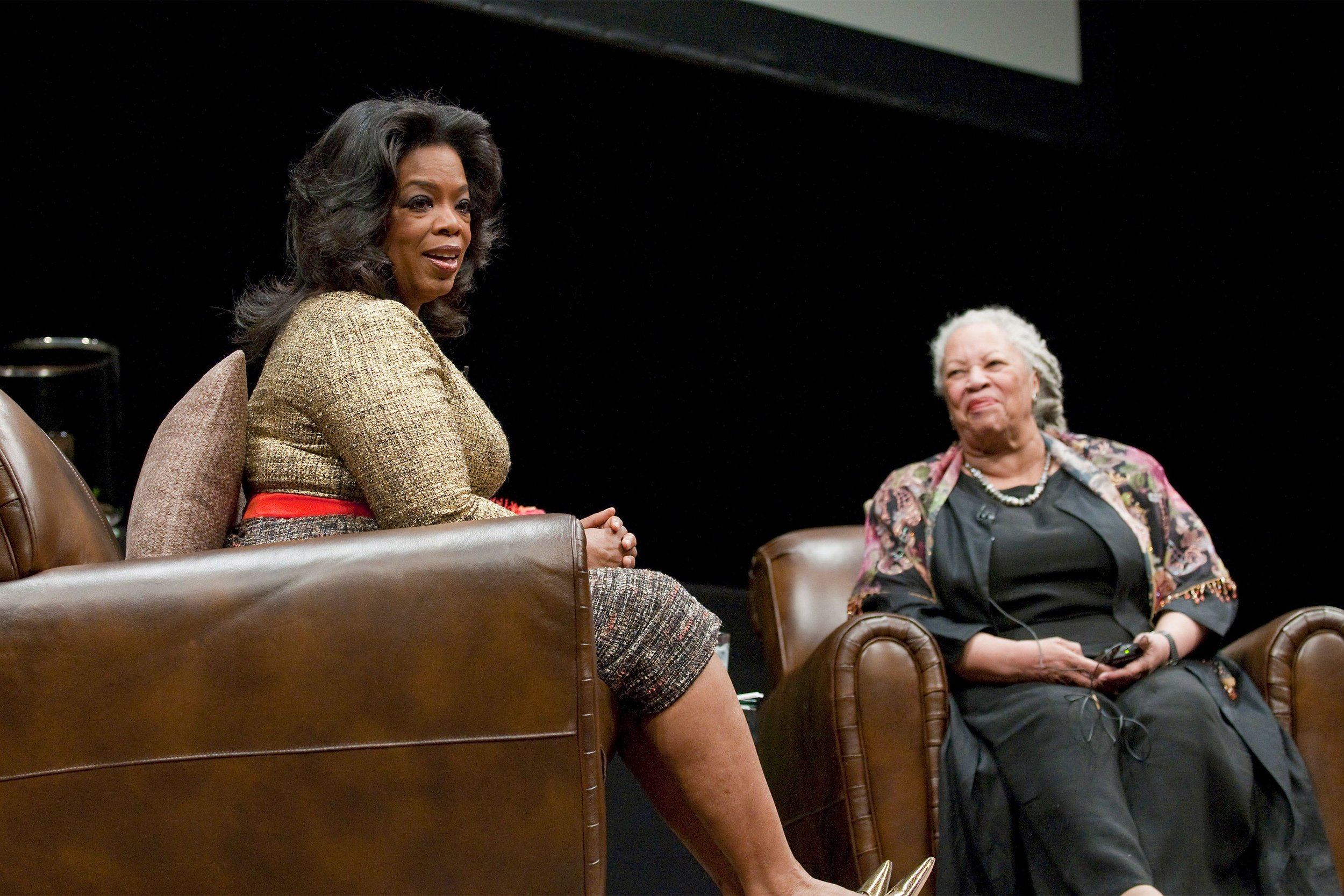 """Oprah expressed one concern after finishing  Beloved : she found herself returning to some of the prose, unable to proceed with the book until she was certain she understood even the densest portions. """"That, my darling,"""" responded Professor Morrison, """"is called  reading. """""""