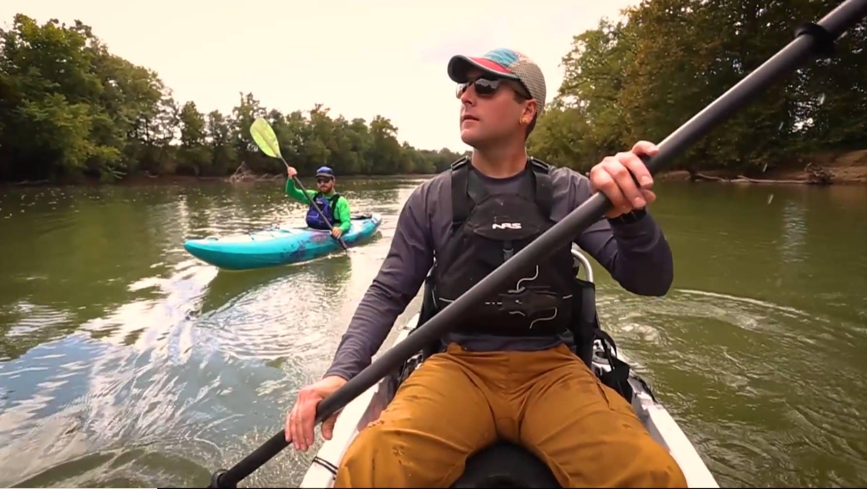paddling in a jackson kaya on kentucky lake.jpg