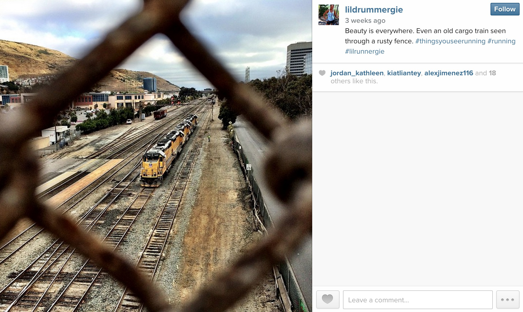 May 15, 2015: Cargo train in South San Francisco