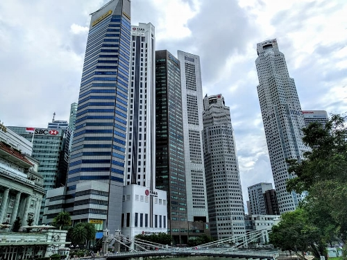 Singapore, home to 6.7 million people