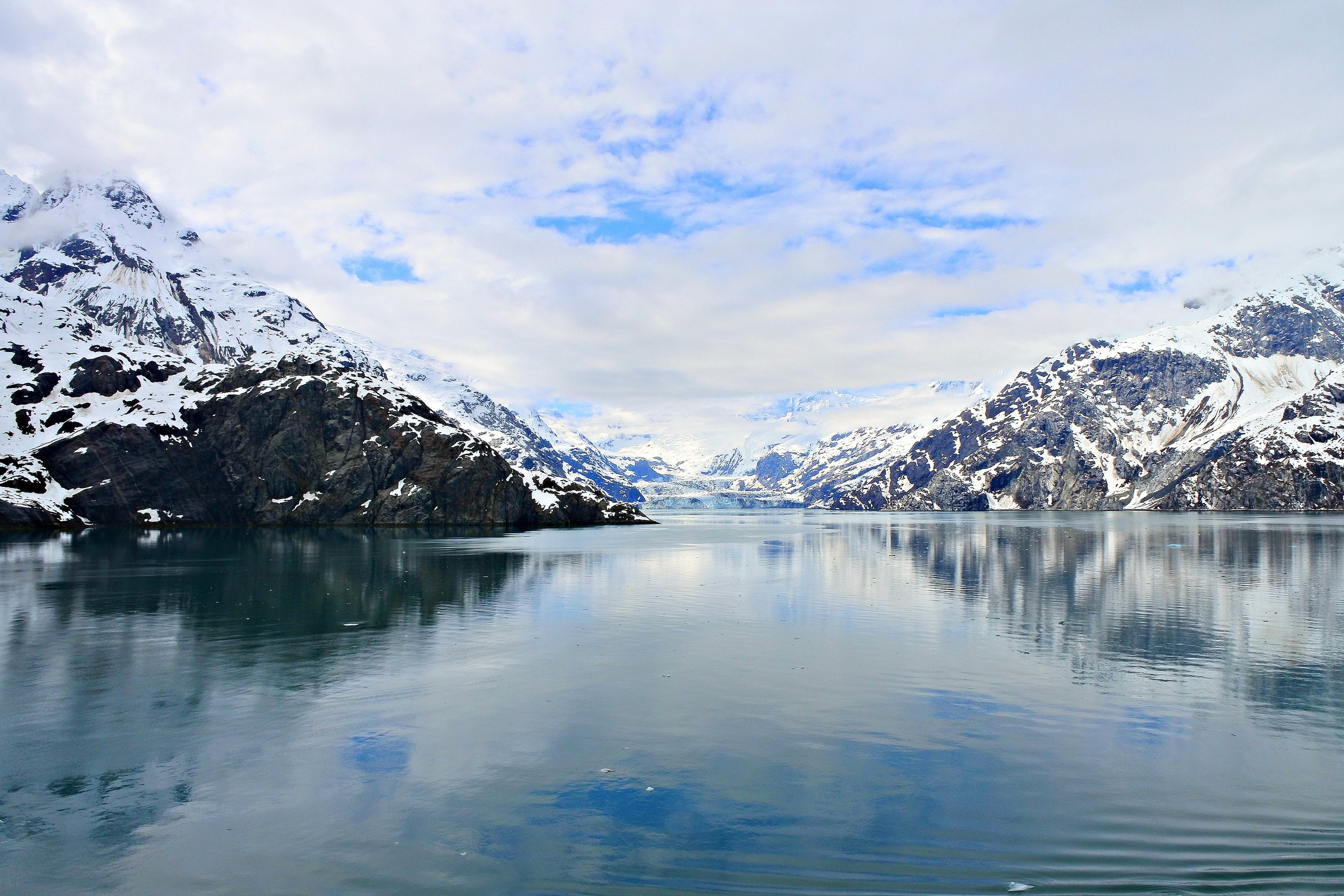 May 2017. Glacier Bay, Alaska. Hauntingly beautiful.