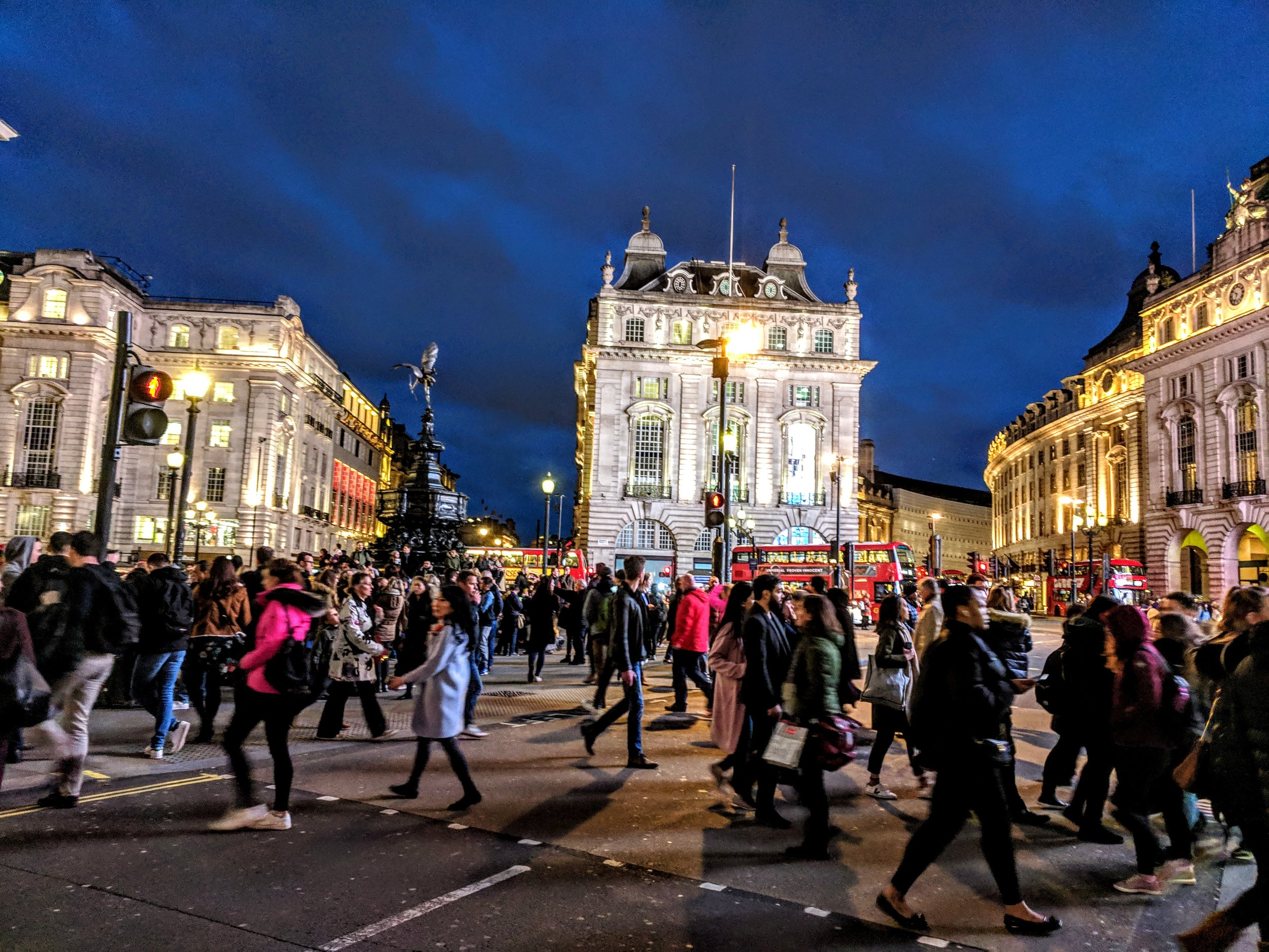Piccadilly Circus on a weekend night. Pic taken on my Google Pixel phone in Mar 2019.  In the 19th century, London was infamously filthy - it had choking, sooty fogs; the Thames River was thick with human sewage; and the streets were covered with mud.  London has since built from its past to being the leading financial center of the world (pre-Brexit) and one of the most visited cities in the world, with over 40 million visitors in 2018.  Your past doesn't determine you. My past work doesn't determine me. My present and future do.