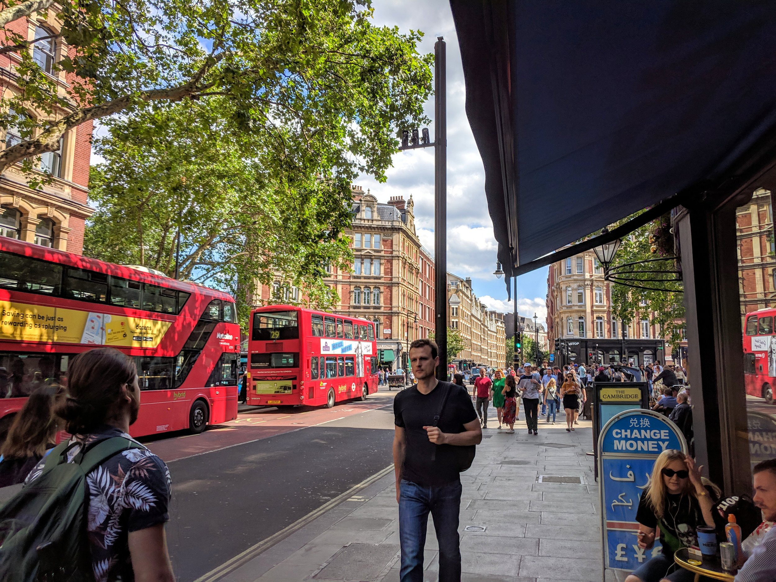 London Jun 2019: Leicester Square