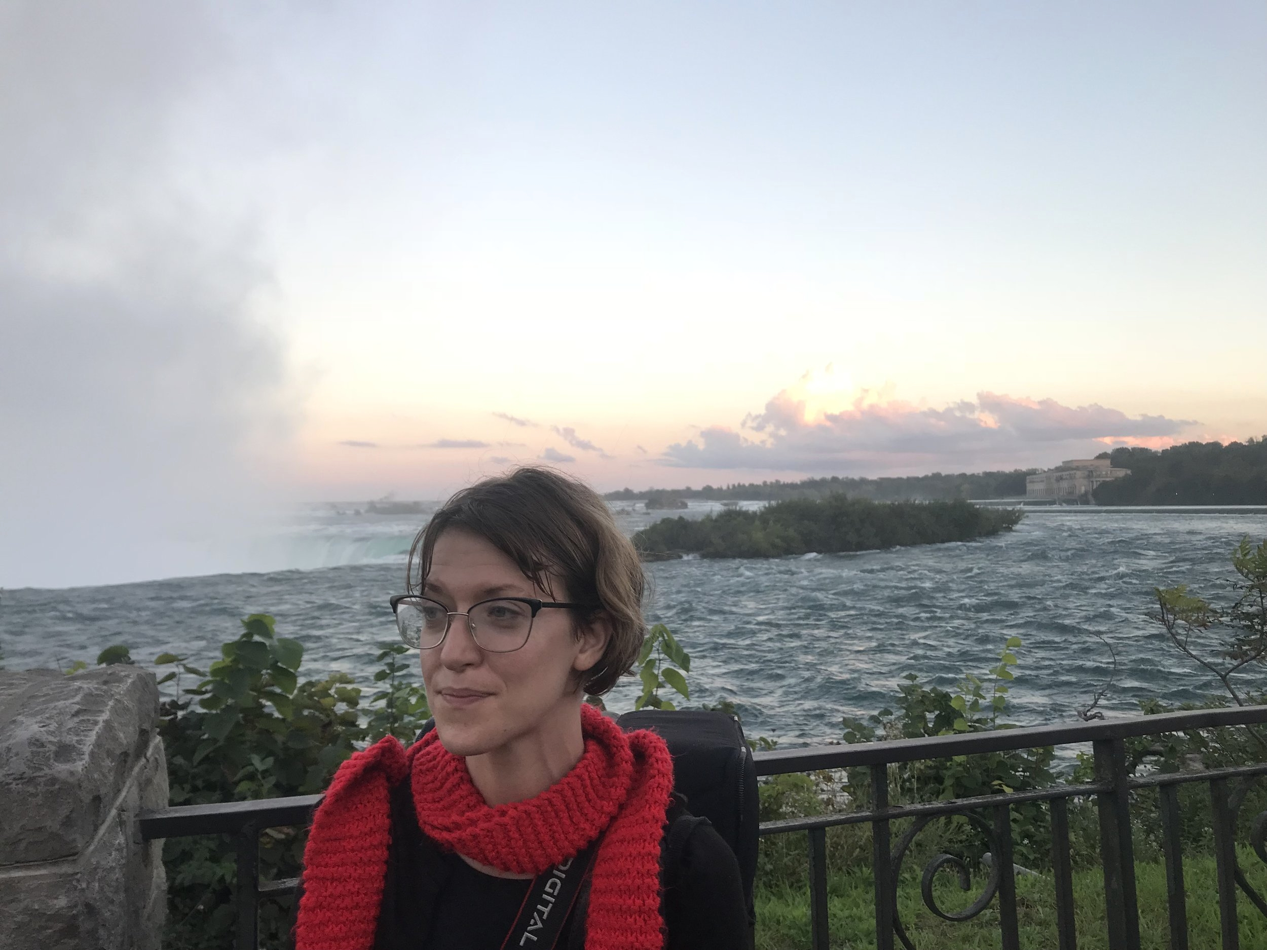 Niagara Falls. End of first International Tour.
