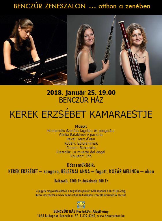 Erzsébet Kerek - piano