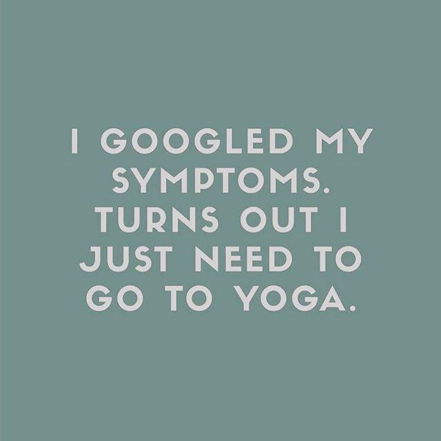 Truth! Come #yoga with me tomorrow morning |  Sat 9 am | 125 Cumberland St  #yogismedicine #yogatherapy #healthymovement #empoweringwholeness #yogaforeverybody #yogalife #mindbodyspirit #nourishedwhole 📷@mindbodygreen
