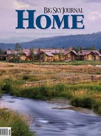 """""""SHELTER INTERIORS""""  Explore Big Sky: Real Estate Guide 2014"""