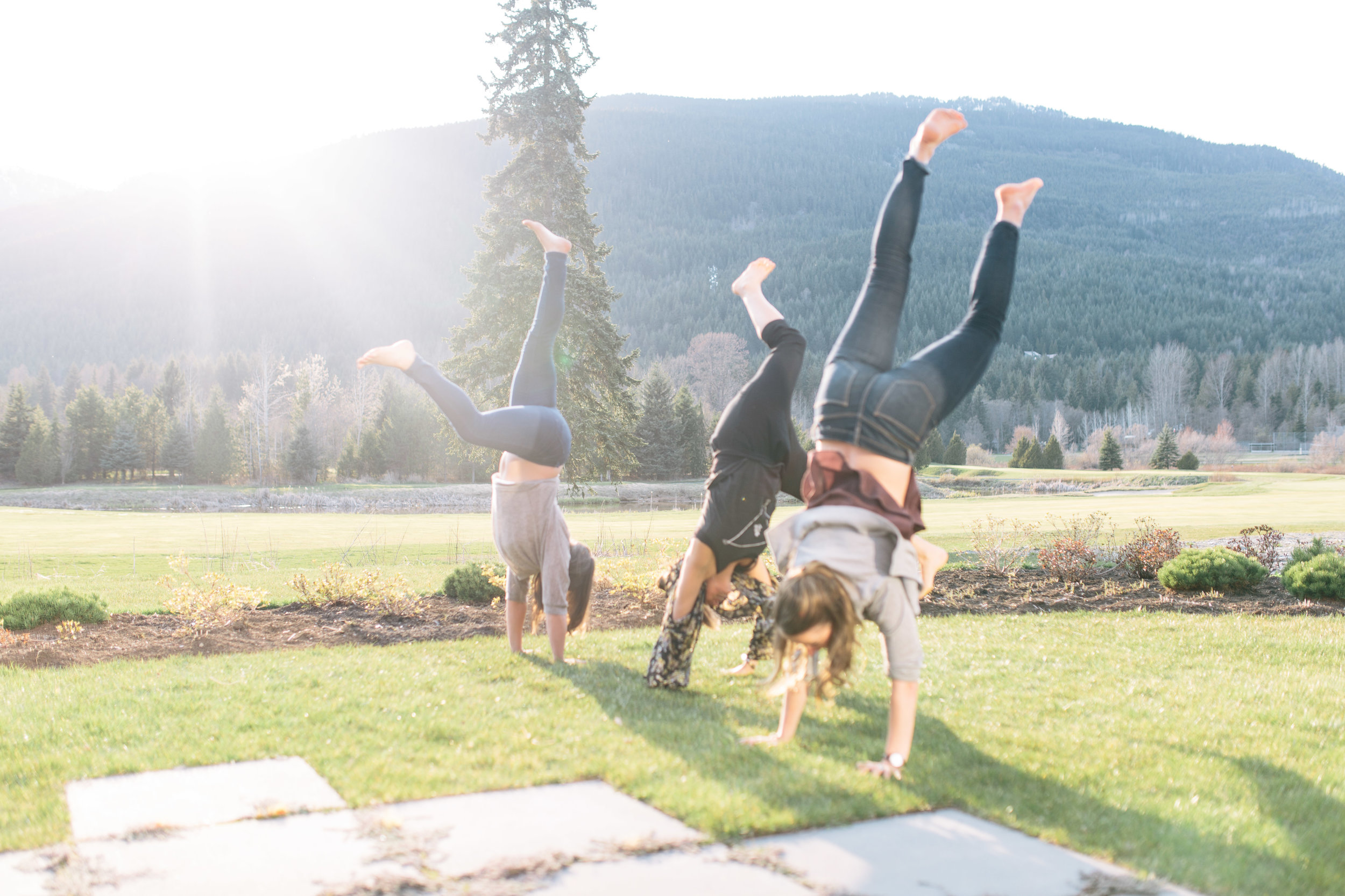 retreat handstands