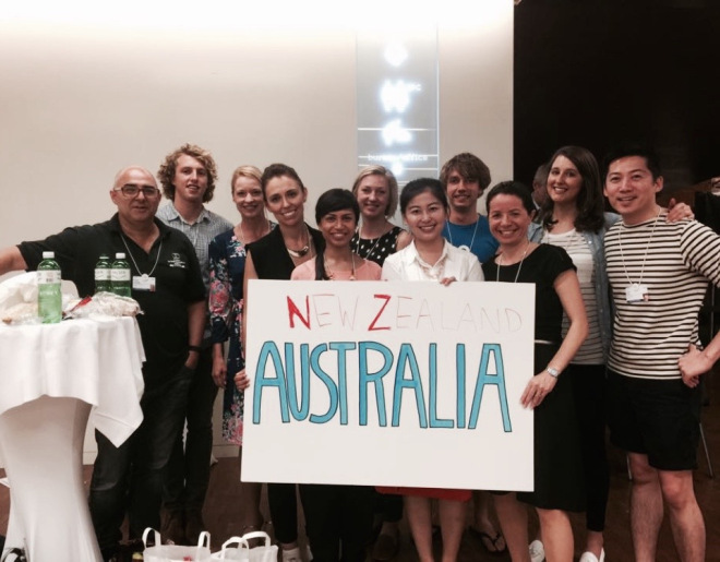 The YGL and Global Shapers, Australia and the SEPARATE COUNTRY New Zealand team