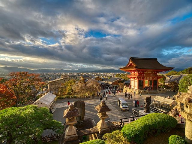 Sunset over Kyoto, from the hilltop Kiyomizu-dera temple. . . . . . #getolympus #olympus #omd #OMDrevolution #em1mkⅡ #em1mk2 #olympusomd #temples #kyoto #unknownjapan #instagramjapan #voyaged #japanrevealed #visitjapan #wondermore #travellife #traveladdict #neverstopexploring #earthoutdoors #exploretocreate #discoverearth #wondermore #roamtheplanet #stayandwander #fantasticearth #earthscope #folkscenery #candidfm
